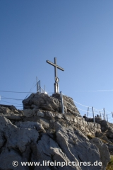 Der Gipfel des Nebelhorns