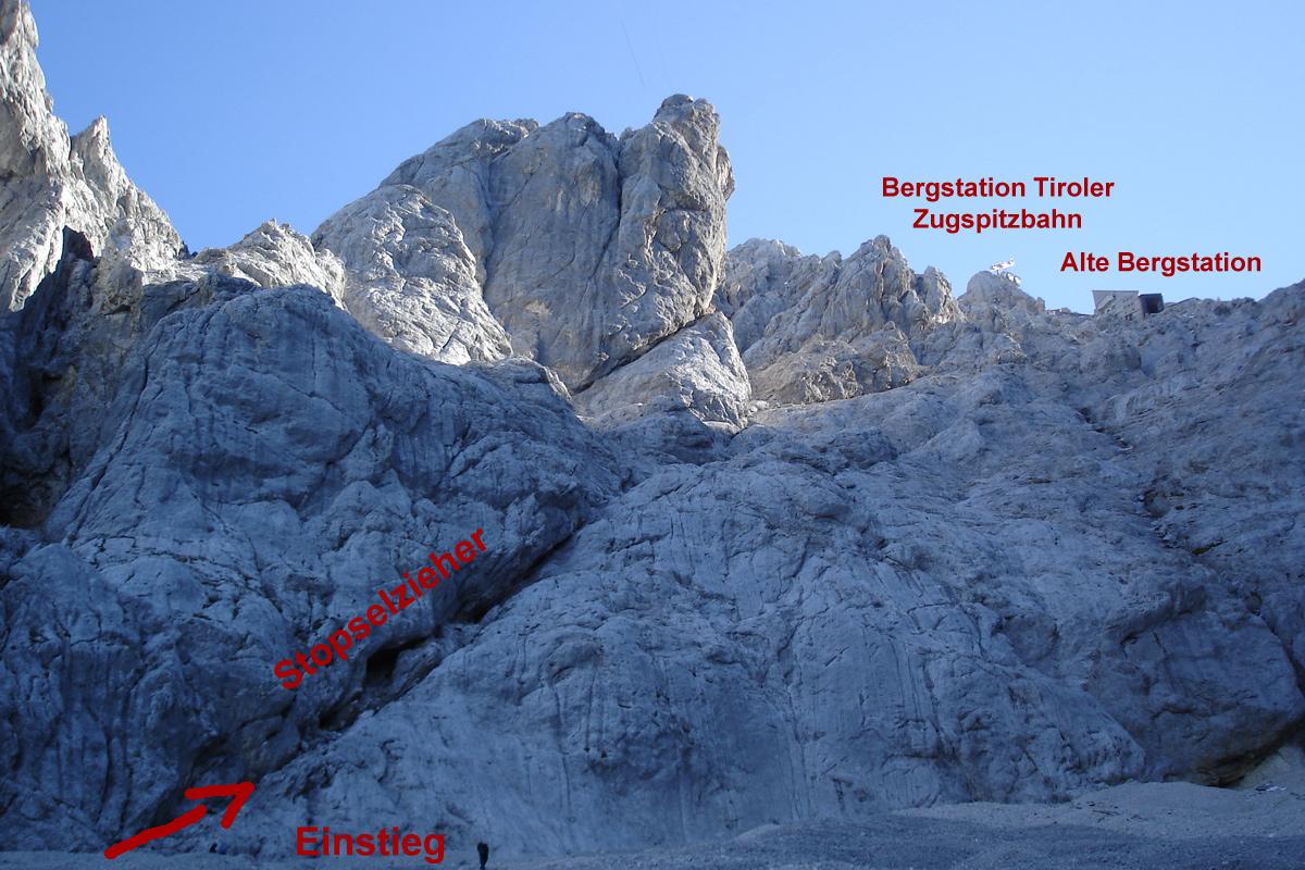 Klettersteigset Zugspitze : Zugspitze via klettersteig stopselzieher « life in pictures