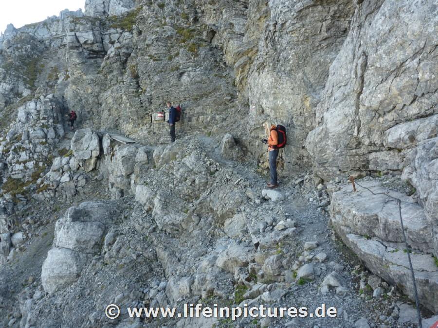 Klettersteig Zugspitze Stopselzieher : Zugspitze via klettersteig stopselzieher « life in pictures