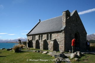 Church of the good Shepherd am Lake Tekapo