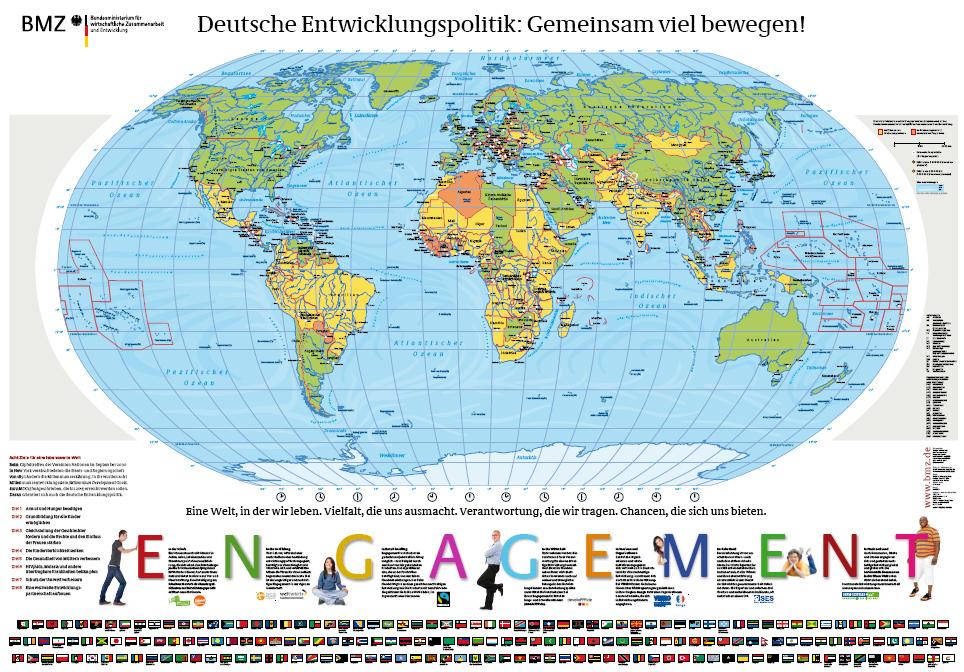 Die welt karte - Weltkarte mit fotos ...