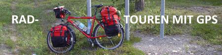 Radtouren mit GPS